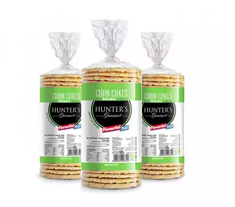 Hunter's Gourmet Organic Corn Cakes
