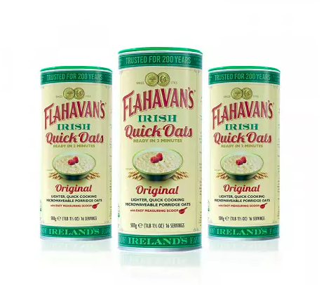Flahavan's Irish Quick Oats Original - Box of 3